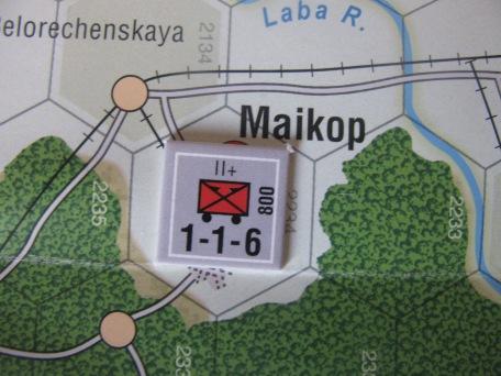 Maikop. en la historia real, cyó por una acción audaz de comandos